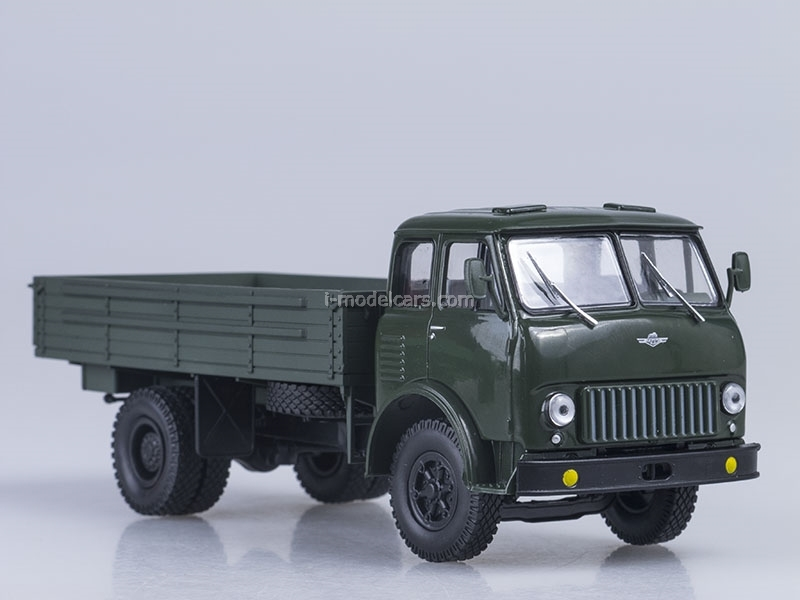 MAZ-500 board dark green 1:43 Nash Avtoprom