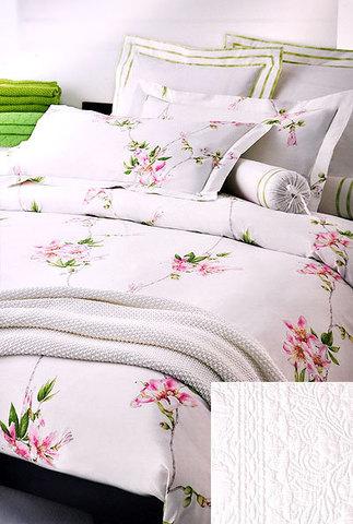 Постельное белье 2 спальное Mirabello Chorisia розовое