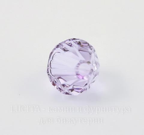 5328 Бусина - биконус Сваровски Violet 6 мм, 5 штук