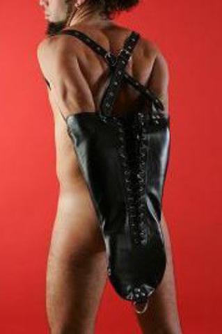Заплечный бондаж мужской