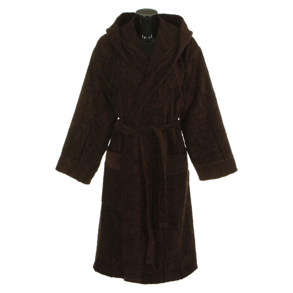 Халаты Элитный халат велюровый Logo с капюшоном коричневый от Roberto Cavalli elitnyy-halat-velyurovyy-logo-korichnevyy-ot-roberto-cavalli-italiya.jpg