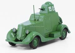 BA-20 light green 1:43 DeAgostini Auto Legends USSR #124