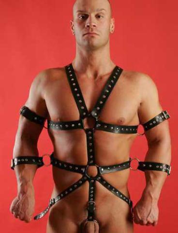 Комплект фиксирующий руки (мужской) (БДСМ костюм)