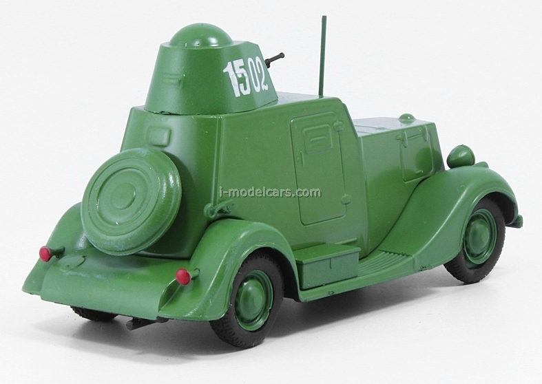 BA-20 light green 1:43 DeAgostini Auto Legends USSR #124