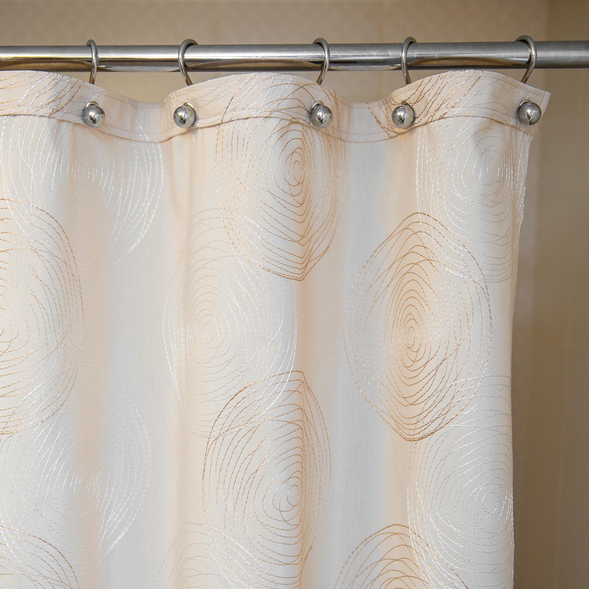 Элитная шторка для ванной 300х200 Melany Natural от Arti-Deco