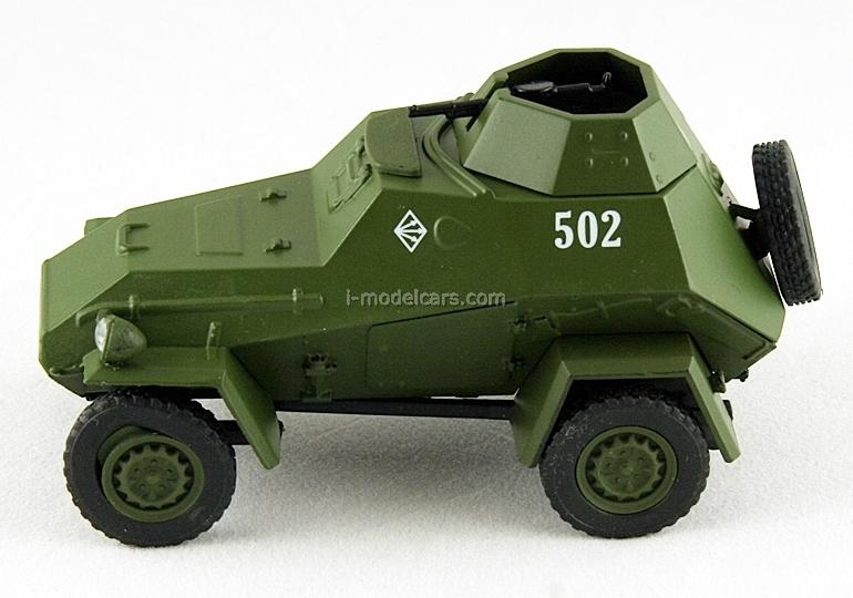 BA-64 khaki 1:43 DeAgostini Auto Legends USSR #75
