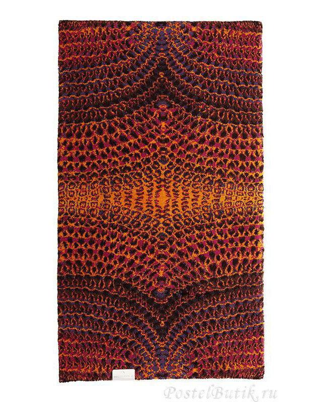 Элитный коврик для ванной Tempo 635 оранжевый от Abyss & Habidecor