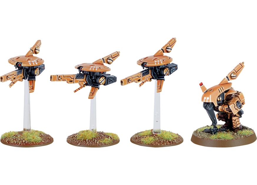 Tau Sniper Drone Team
