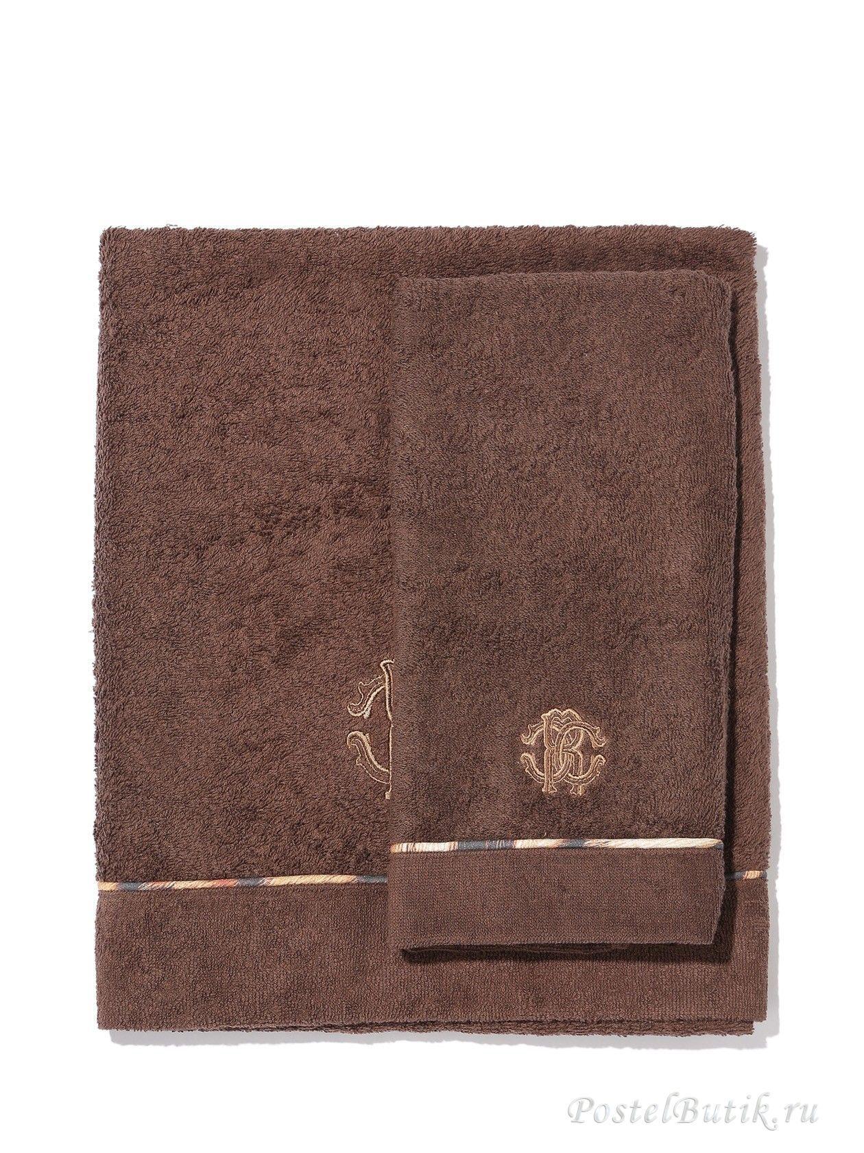 Наборы полотенец Набор полотенец 2 шт Roberto Cavalli Basic коричневый elitnie-polotentsa-basic-korichnevie-ot-roberto-cavalli-italiya.jpg