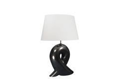 Элитная лампа настольная Ильяву черная от Sporvil
