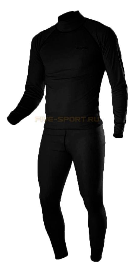 Комплект спортивного термобелья Noname Arctos Underwear Black (680170-680171)