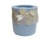 Ведро для мусора в ванную Buratto голубое от Old Florence