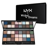NYX Палитра теней WICKED DREAMS COLLECTION
