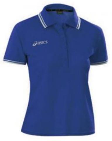 Поло женское Asics Polo Katy blue