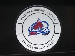Шайба сувенирная GUFEX NHL Colorado Avalanche