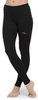 Терморейтузы с шерстью мериноса Norveg Classic Black женские