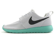 Кроссовки мужские Nike Roshe Run Material Grey Black Turquoise