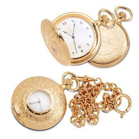 """Купить Карманные позолоченные часы """"Фараб"""". по доступной цене"""