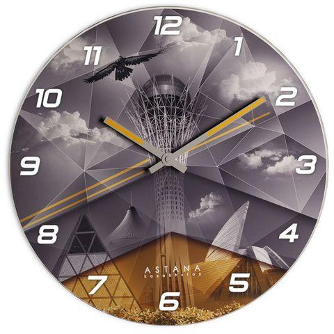 """Купить Настенные часы """"Астана-Байтерек"""" 3D по доступной цене"""