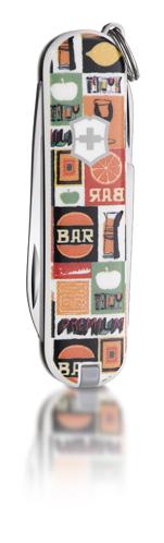 "Нож-брелок Victorinox Classic LE 2011, 58 мм, 7 функ, ""Tropical Juice""  (0.6223.L1101)"