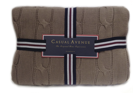 Плед 130х170 Messina от Casual Avenue коричневый
