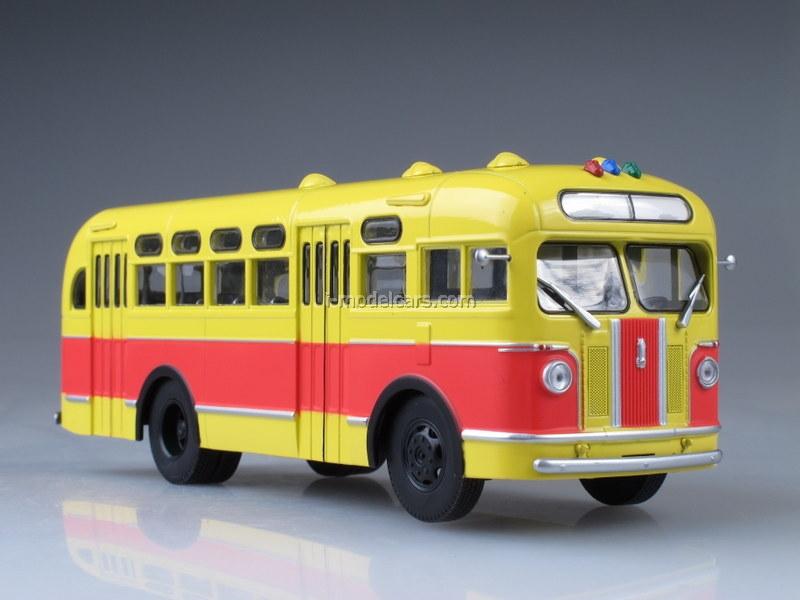 ZIS-155 red-yellow 1:43 AutoHistory