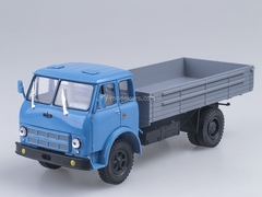 MAZ-500A board blue-gray 1:43 Nash Avtoprom