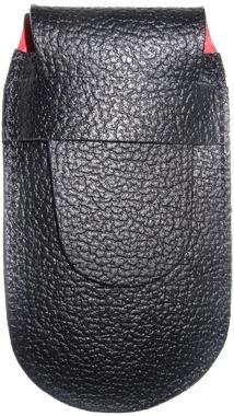Чехол кожаный черный (шт.) 4.0740, для Swiss Army Knives or EcoLine 91 mm, толщина ножа - 5-7 уровне