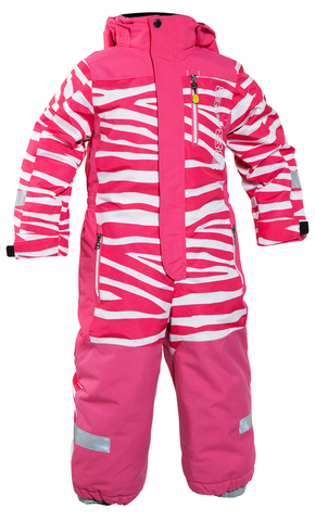 Комбинезон 8848 Altitude Devon Min Suit Zebra Cerise детский