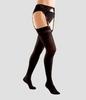 Компрессионные чулки женские для ношения с поясом, плотные III класс компрессии