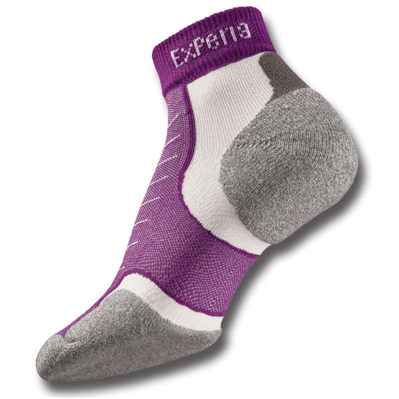Беговые носки Thorlo Experia Xcmu 220 Mini Crew Фиолетовые