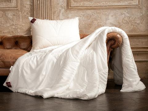Элитное одеяло лёгкое 150х200 Double Tencel от German Grass