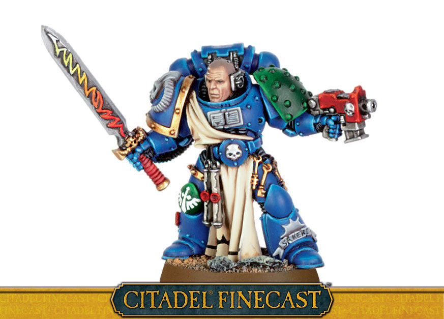 Space Marine Librarian with Force Sword & Bolt Pistol