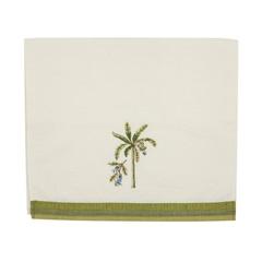 Полотенце 76х41 Avanti Catesby Palms белое