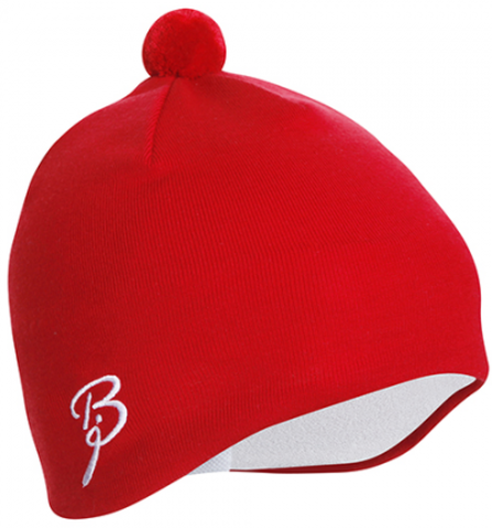 Шапка лыжная Bjorn Daehlie Hat Earprotector red