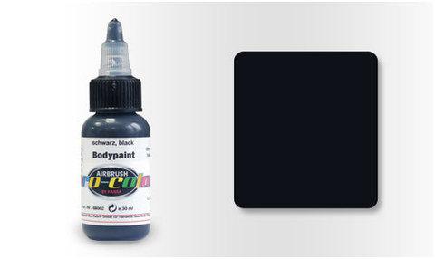 68002 Краска для Бодиарта Pro-Color Black (Черный) 30мл.
