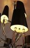 Люстра  Brunilde Chandelier  by Ipe cavalli черный 9 палафонов