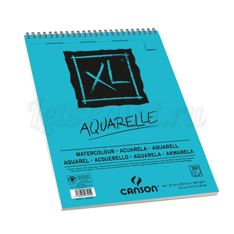 Альбом для акварели Canson XL Aquarelle А4 300 г/м2 30 листов