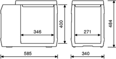 Компрессорный автохолодильник WAECO CoolFreeze FC-40 (40л)