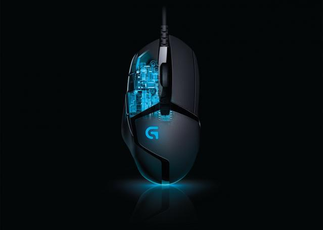 Мышь (910-004067) Logitech Gaming Mouse G402 Hyperion Fury USB Optical & Fusion Engine 240 - 4,000 dpi (G-package)