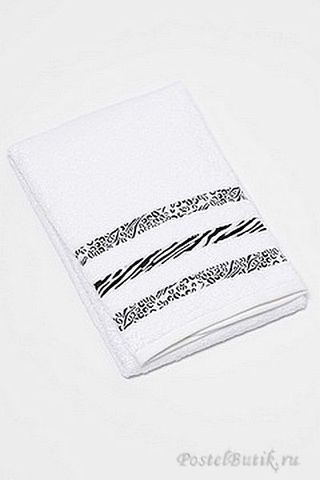 Набор полотенец 2 шт Caleffi Clio белый