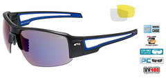 Спортивные очки goggle Zender black/blue