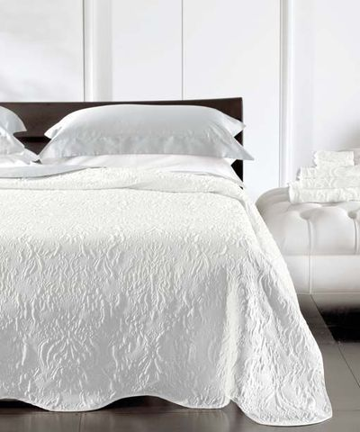 Элитное покрывало Damasco белое от Blumarine - Svad Dondi