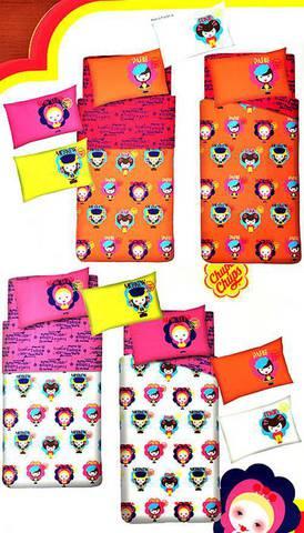Детское постельное белье Zambaiti Chupa-8 Miss Chupa оранжевое