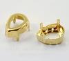 4320/S Сеттинг - основа для страза Капля 14х10 мм (цвет - золото)