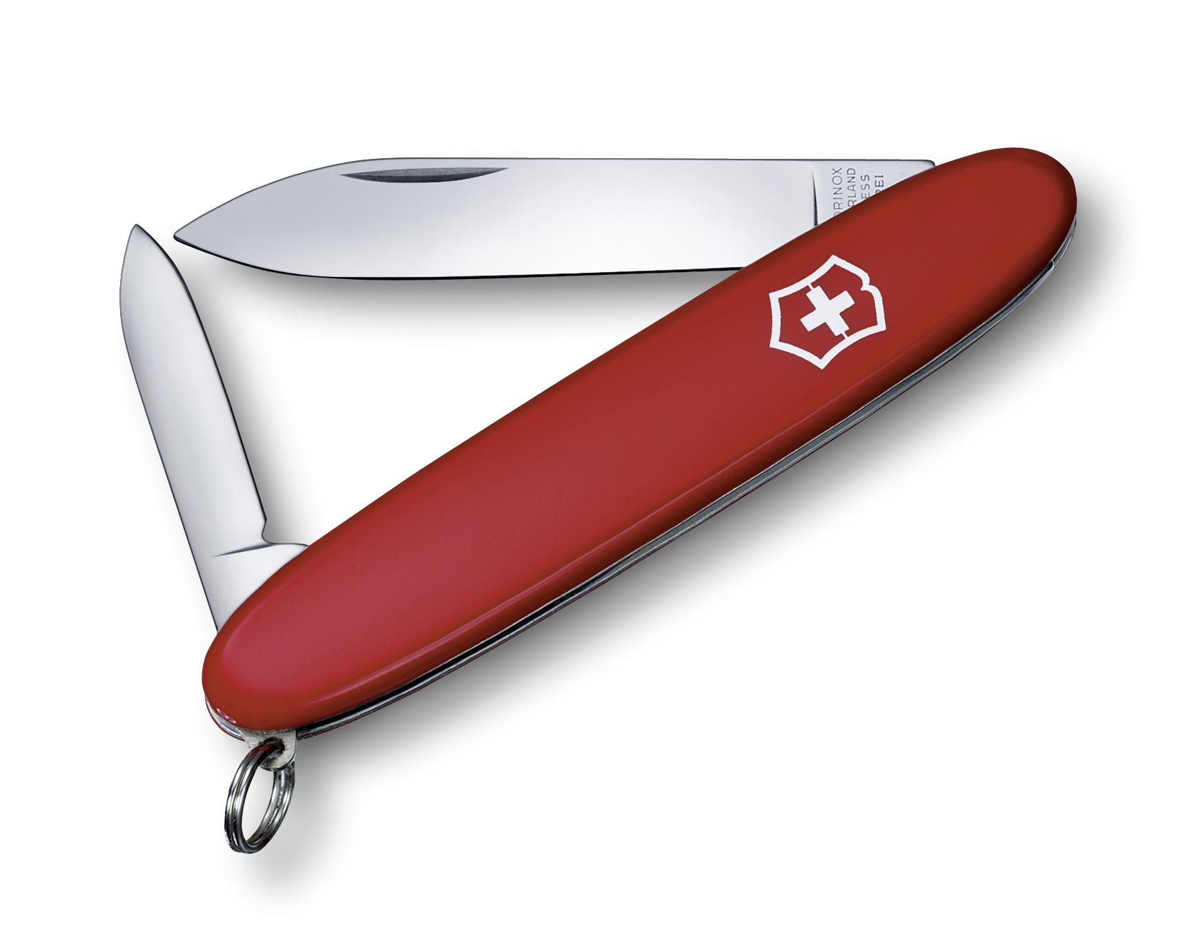 Швейцарский нож Victorinox EcoLine Excelsior, 84 мм, 3 функ, красный матовый  (2.6901)