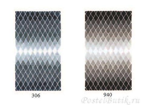 Элитный коврик для ванной Reflex 940 темно-серый от Abyss & Habidecor