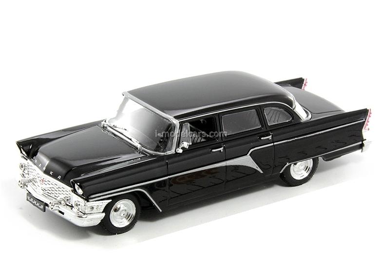 GAZ-13 Chaika black 1:43 DeAgostini Auto Legends USSR #13