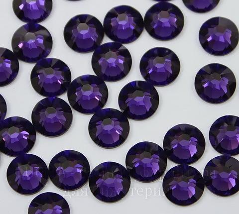 2058 Стразы Сваровски холодной фиксации Purple Velvet ss30 (6,32-6,5 мм)