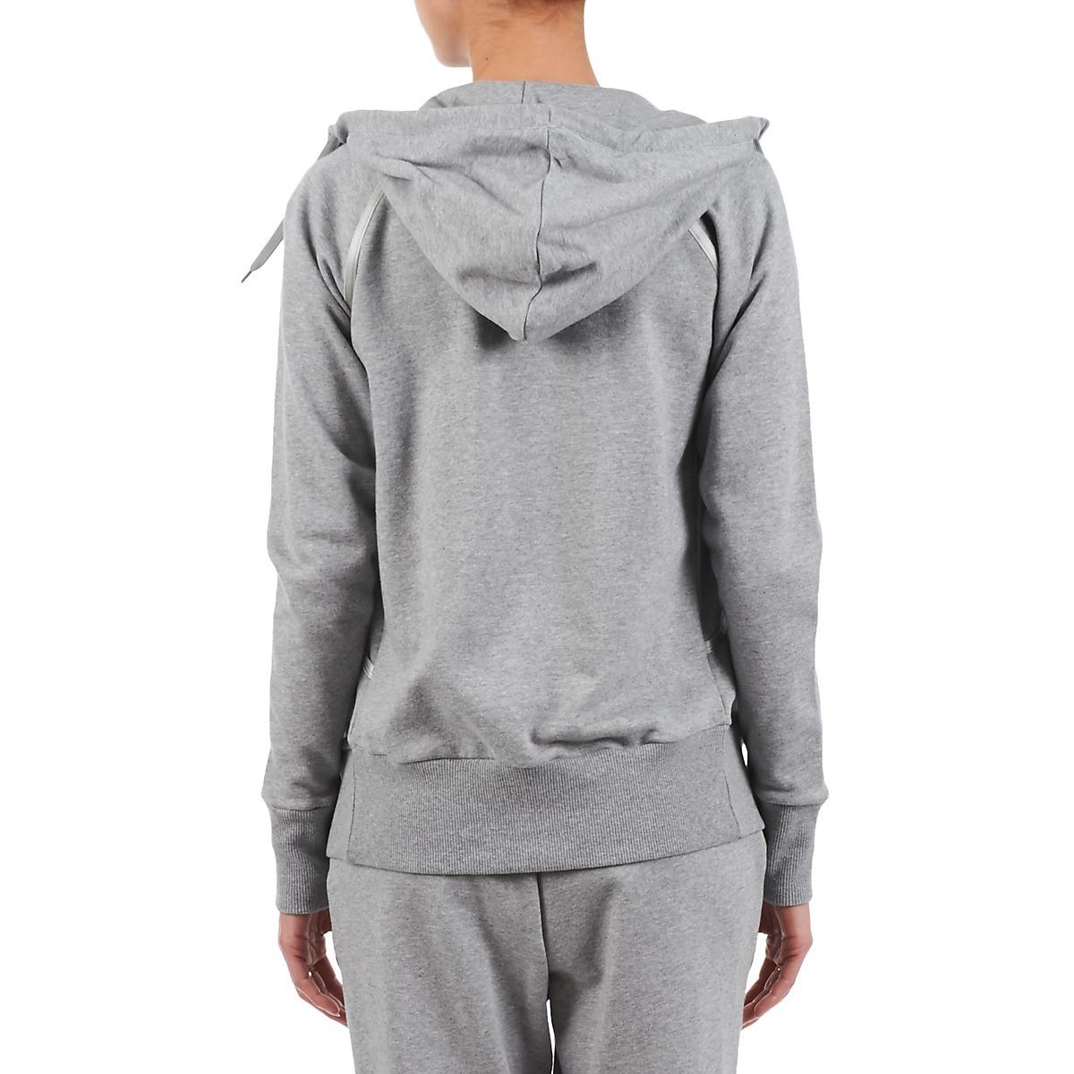 Женская толстовка Asics Knit Full Zip Hoodie Grey (109872 0714) фото